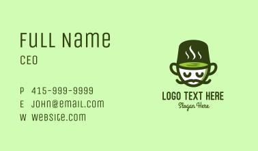 Herbal Tea Mascot Business Card