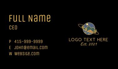 Adventure Planet Business Card