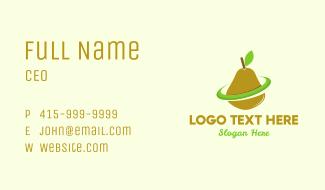 Green Pear Business Card