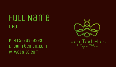 Butterfly Nature Insect  Business Card