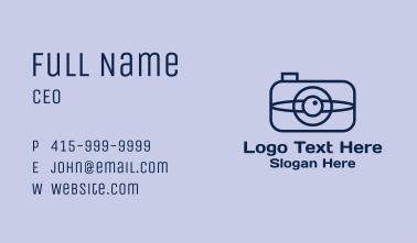 Eye Lens Photography Business Card