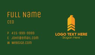 Military Eagle Business Card