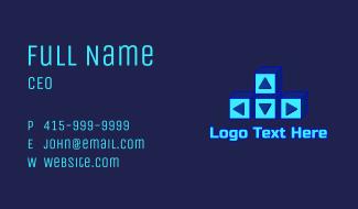 Gaming Keyboard  Arrow Keys Business Card