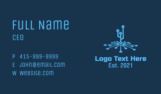 Digital Tech Connection Business Card