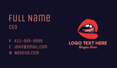 Lick Lip Cosmetics Business Card