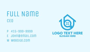Modern Housing Firm Business Card