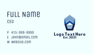3D House Builder Business Card