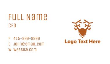 Brown Elk Business Card