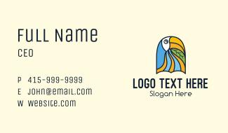 Toucan Bird Sanctuary Business Card
