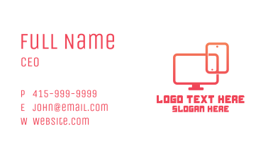 Gadget Technician Business Card