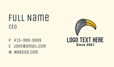 Wild Toucan Bird Business Card