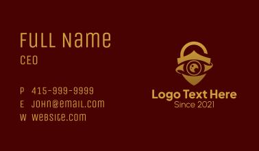 Premium Security Eye  Business Card