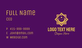 Muslim Decoration Business Card