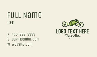 Frog Vine Business Card