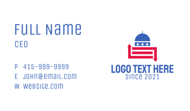 American Capitol Building Business Card