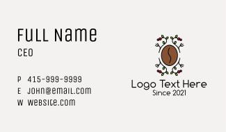 Coffee Bean Farm Business Card