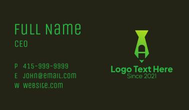 Pharmacy Necktie  Business Card