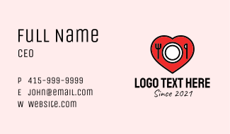 Food Lover  Business Card