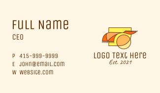 Carpet Rug Homewares Business Card