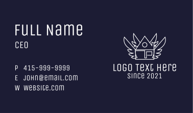 Realty House Wings Business Card