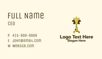 Giraffe Industrial Business Card