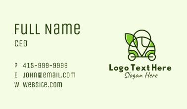 Camper Van Eco Location Business Card