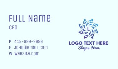 Spiral Blue Energy Business Card