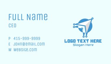 Internet Tech Cursor Business Card
