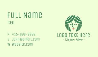 Face Beauty Spa Business Card