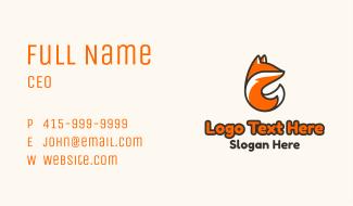 Fox Tail Business Card
