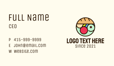 Bread Fruit Grocery Store Business Card
