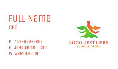 Yogi Monk Aura Business Card