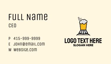 Beer Train Bar Business Card