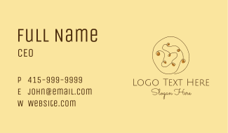 Cookie Choc Chip Business Card