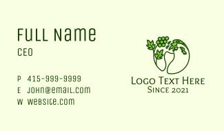Liquid Grape Glass Business Card