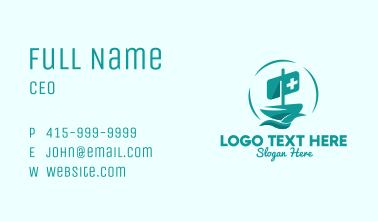 Medical Hospital Boat  Business Card