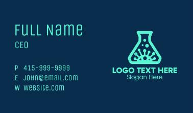 Virus Laboratory Business Card
