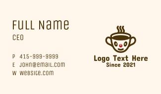 Cute Kiddie Coffee Business Card