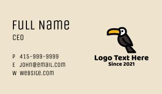 Toucan Bird Business Card