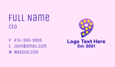 Starry Nine Business Card
