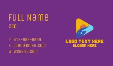 Ocean Youtube Media Player Business Card