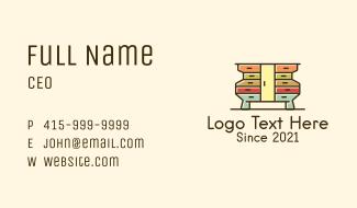 Door Furniture Cabinet Business Card