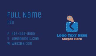 Pocket Worm Business Card