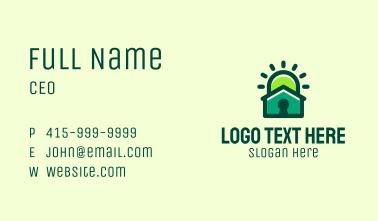 Keyhole House Light  Business Card