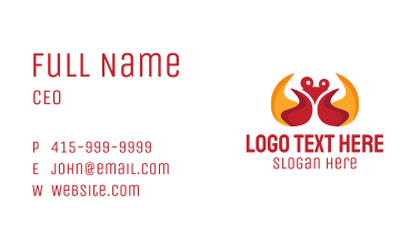 Fire Crab Business Card