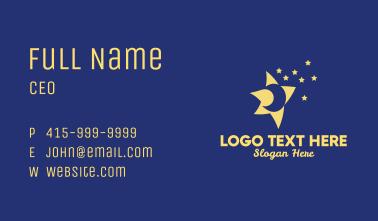Night Sky Stars  Business Card