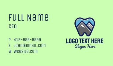Mountain Peak Dental Business Card