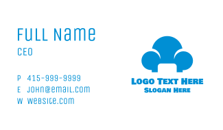 Blue Cloud Sofa Business Card