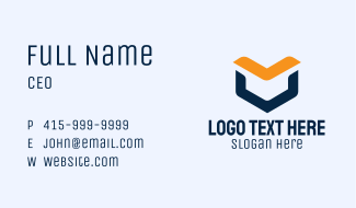 Ebook Library App Business Card