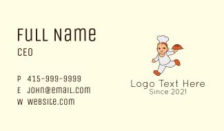 Baker Chef Man Business Card